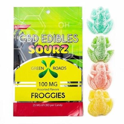 Picture of CBD Sourz Froggies 25mg