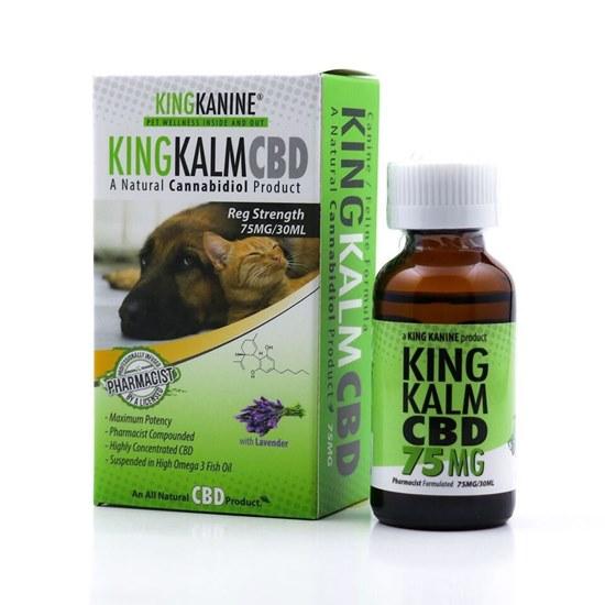 Picture of CBD Pets  75mg Kingkalmcbd Canine Feline