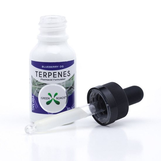 Picture of CBD Terpenes 100mg Tincture Blueberry OG