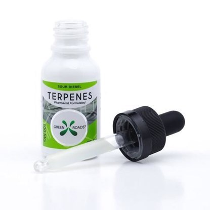 Picture of CBD Terpenes 100mg Tincture Sour Diesel