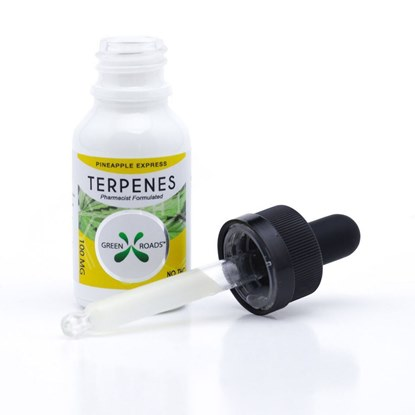 Picture of CBD Terpenes 100mg Tincture Pineapple Express