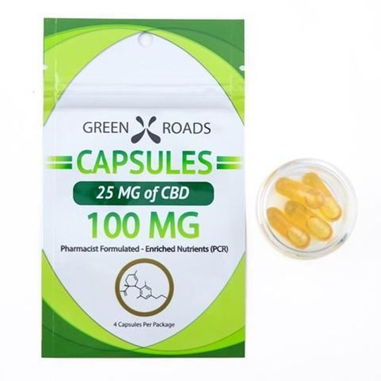 Picture of CBD Capsules 25mg Bag