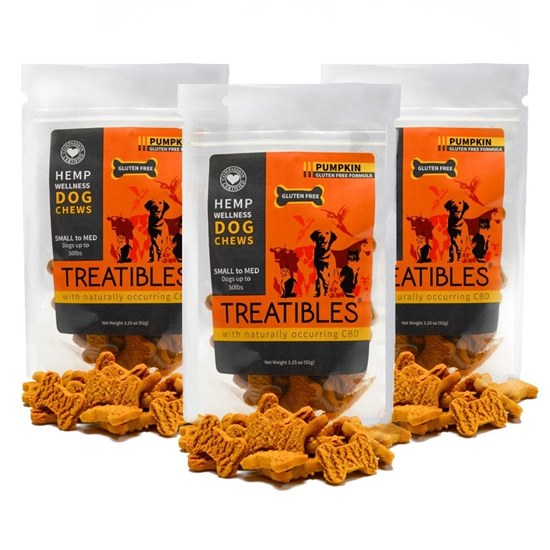 Picture of CBD Pets 1mg Chews - Pumpkin