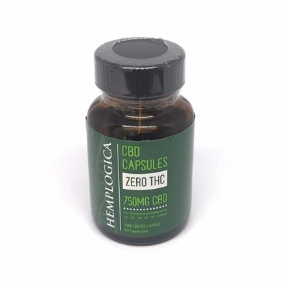 Picture of CBD Capsules 750mg Bottle