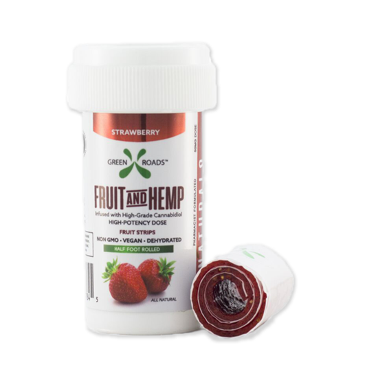 Picture of CBD Fruit and Hemp Strips